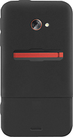 Platinum Series - Case with Holster for HTC EVO 4G LTE Mobile Phones - Black