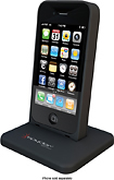 Spyder - PowerShadow i4 Battery Case and Dock for Apple iPhone 4 and 4S - Black