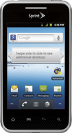 LG - Optimus Elite Mobile Phone - Titan Silver (Sprint)