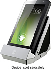iHome - Portable Stereo Speaker for Most Tablets and Mobile Phones - Silver