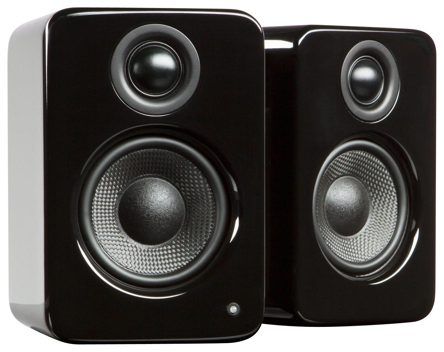 Kanto - YU2 3 2-Way Powered Desktop Speakers (Pair) - Gloss Black