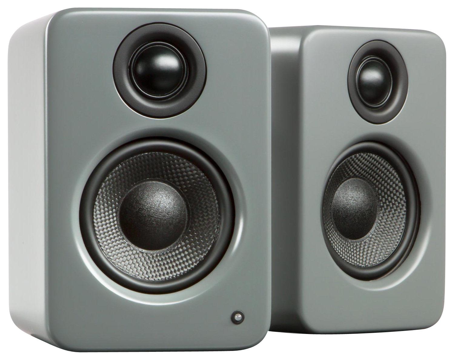 Kanto - YU2 3 2-Way Powered Desktop Speakers (Pair) - Matte Gray