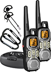 Uniden - 40-Mile, 22-Channel FRS/GMRS 2-Way Radio (Pair) - Silver/Black