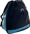 Trademark Global - Toppers Expandable Sport Pack - Sky Blue/Black