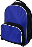 Trademark Global - Toppers Sport Backpack - Royal/Black