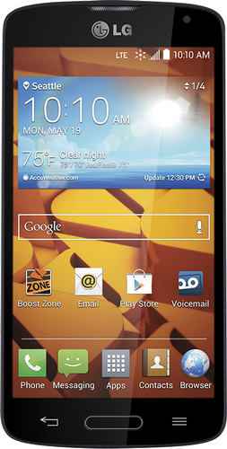 Boost Mobile - LG Volt 4G No-Contract Cell Phone - Dark Blue