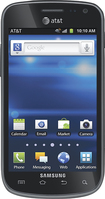 Samsung - Galaxy Exhilarate 4G Mobile Phone - Black (AT&T)