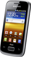 Samsung - Galaxy Y Mobile Phone (Unlocked) - Black