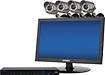 Lorex - VANTAGE Edge2 Series 8-Channel, 4-Camera Indoor/Outdoor Surveillance System