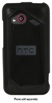 Xentris Wireless - Soft Shell Case for HTC DROID Incredible 4G LTE Mobile Phones - Black