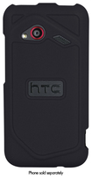 Xentris Wireless - Hard Shell Case for HTC DROID Incredible 4G LTE Mobile Phones - Black