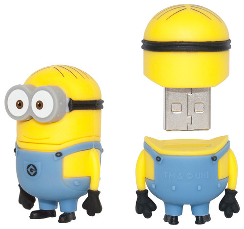 EP Memory - Despicable Me Minion Dave 8GB USB 2.0 Flash Drive - Yellow