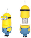 Ep Memory - Despicable Me Minion Kevin Usb 2.0 Flash Drive - Yellow 5580103