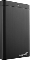 Seagate - Backup Plus 1TB External USB 30 Portable Hard Drive - Black
