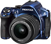 PENTAX - K-30 163-Megapixel DSLR Camera with 18-55mm Lens - Blue