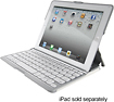 ZAGG - ZAGGkeys PROfolio Keyboard Case for Select Apple iPad Models - White