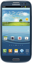 Samsung - Galaxy S III 4G with 16GB Mobile Phone - Pebble Blue (AT&amp;amp;T)