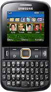 Samsung - Ch@t 220 Mobile Phone (Unlocked) - Black
