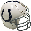 PSG - Indianapolis Colts Football Helmet Wireless Scroll Mouse