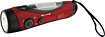 Weather X - AM/FM/NOAA Weather Band Flashlight Radio - Red