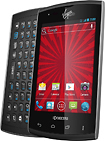 Virgin Mobile - Kyocera Rise No-Contract Mobile Phone - Black