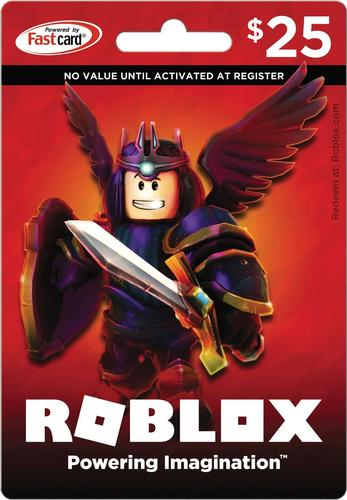 Roblox - Roblox $25 Game Card - Red