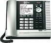 AT&T - Expandable Corded Phone System with Digital Answering System