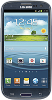 Samsung - Galaxy S III 4G with 16GB Memory Mobile Phone - Pebble Blue (T-Mobile)