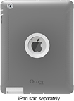 OtterBox - Defender Series Case for Apple iPad 2 and iPad (3rd Generation) - Gray/White