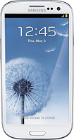 Samsung - Galaxy S III with 16GB Mobile Phone - Marble White (Sprint)