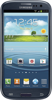 Samsung - Galaxy S III 4G with 16GB Memory Mobile Phone - Pebble Blue (Verizon Wireless)