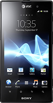 Sony - Xperia Ion 4G Mobile Phone - Black (AT&T)