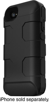Mophie - Juice Pack PRO Charging Case for Apple iPhone 4 and 4S - Black