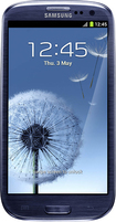 Samsung - Galaxy S III Mobile Phone (Unlocked) - Blue