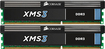 Corsair - XMS3 2-Pack 8GB CL9 DDR3 DIMM Desktop Memory Kit
