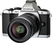 Olympus - OM-D E-M5 161-Megapixel Digital Compact System Camera with 12-50mm Lens - Silver