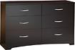 South Shore - Step One Collection 6-Drawer Dresser