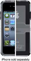 OtterBox - Reflex Series Case for Apple iPhone 4 and 4S - Clear