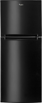 Whirlpool - 10.7 Cu. Ft. Top-Freezer Refrigerator - Black