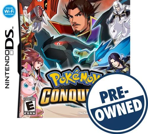 Pokémon Conquest - PRE-Owned - Nintendo DS