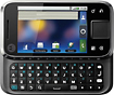 Motorola - Flipside MB508 Mobile Phone (Unlocked) - Black