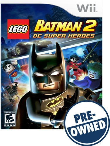 Lego Batman 2: DC Super Heroes - PRE-Owned - Nintendo Wii