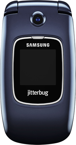 Samsung - Samsung Jitterbug5 No-Contract Cell Phone - Blue