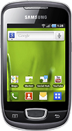 Samsung - Galaxy Mini S5570 Mobile Phone (Unlocked) - Steel Gray