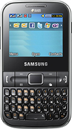 Samsung - Ch@t 322 Mobile Phone (Unlocked) - Black
