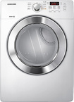 Samsung White Front Load Dryer DV365GTBGWR