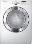 Samsung 7.3 Cu.Ft. King-Size Capacity White Front Load Electric Dryer - DV365ETGWR/A3