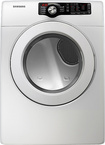 Samsung White Front Load Dryer DV361GWBEWR