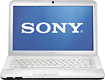 "Sony - 14"" Geek Squad Certified Refurbished Laptop - 6GB Memory - 640GB Hard Drive - Glacier White"
