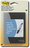 Buy 3M Post-it Notes for Logitech io Personal Digital Pen (3-pack)